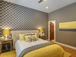 Gray Master Bedroom by Chic Yellow And Grey Bedroom Bedroom Pinterest Gray Bedroom