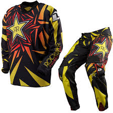 motocross pants and jersey combo one industries carbon rockstar energy 2013 mx motocross jersey