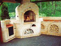Outdoor Fireplace With Cooking Grill by Brick Garden Outdoor Fireplace With Grill And Smoker My Dream