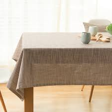 aliexpress buy japanese cotton linen tablecloth plain table