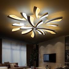 Light Fittings For Bedrooms Shop Modern Dimmable Led Living Room Ceiling Light Large