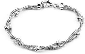 silver bracelet designs images Fancy twist designer 925 sterling silver bracelet flaunt basket jpeg