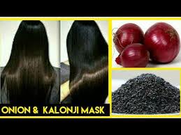 kalonji for hair growth diy onion kalonji hair mask for hair growth make kalonji onion