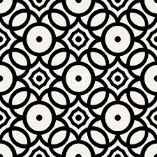 black and white wrapping paper abstract geometric background modern seamless pattern wrapping