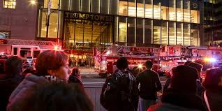 trump apartment one dead after fire breaks out at trump tower apartment