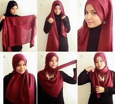 tutorial hijab segitiga paris simple hijab triangle simple and trendy hijab tutorial pictures