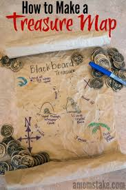 how to make a treasure map map crafts treasure maps and activities