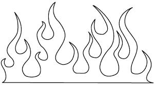 flame template printout group 52