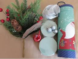 ornament gift diy craft how to make a christmas floral arrangement and