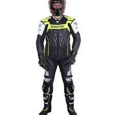 berik motocross boots berik mens defence race leather suit black fluro yellow white