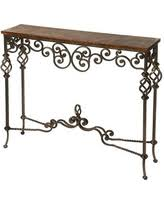 Wrought Iron Console Table Savings On Wrought Iron Console Tables