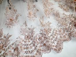 tulle wholesale wedding dress lace fabric beaded lace tulle wholesale view