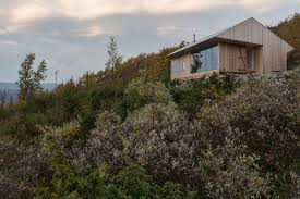 Cabin Architecture Pine Cabin Offers Refuge For Architect And His Family In Norway