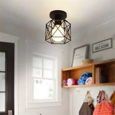 Ceiling Lights For Living Rooms by Marsbros Retro Vintage Industrial Mini Painting Metal Flush Mount