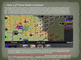 siege cic information requirements to be sent to players by the cic of the