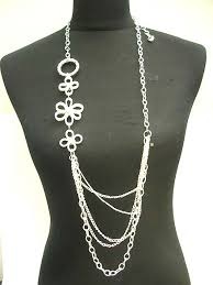 long necklace chain silver images Wholesale costume jewelry necklace long necklaces long chain jpg