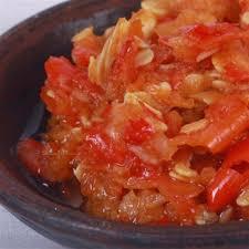 recettes de cuisine indon駸ienne balinaise sambal bawang sambal bali et recettes