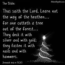 happy pagan holidays christians you are sinning just by