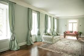 Grey And Aqua Living Room Interior Design