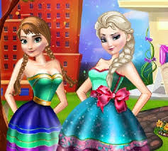 fynsy u0027s beauty salon elsa anna frozen games