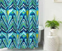 Peacock Feather Home Decor Bathroom Peacock Feather Shower Curtain Peacock Shower Curtain