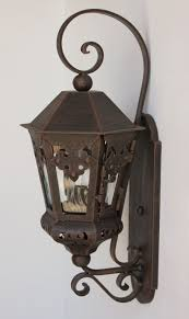 Mexican Wall Sconce Lights Of Tuscany Authentic Spanish Colonial Outdoor Exterior