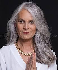 long grey hair styles for women over 50 2018 popular long hairstyles for grey hair