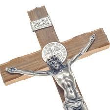 wooden crucifix benedict wooden crucifix galleria mariana