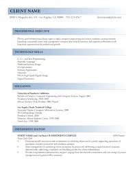 proper format of resume www resume sle resumes exle with proper 17 federal and format