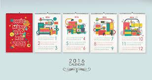 25 best new year 2016 wall desk calendar designs for inspiration