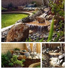 ponds waterfalls fountains design installation by chaparral