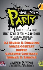 3rd annual children u0027s halloween party hosted by lbif s t a r t