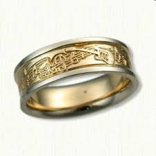 the story wedding band 14kt two tone custom guitar story wedding band one day
