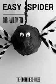 Spider Halloween Craft 104 Best Monsters Witches And Halloween Picture Books And Crafts
