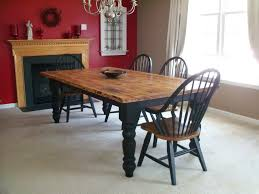 I Want A Twotone Harvest Table Similar To This One For My Kitchen - Pine kitchen tables and chairs