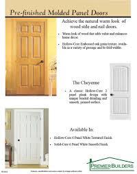 hollow interior doors interior doors allegany river homes