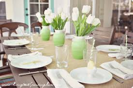 Table Decorations For Easter Brunch by Simple Easter Birthday Brunch Living Well Spending Less
