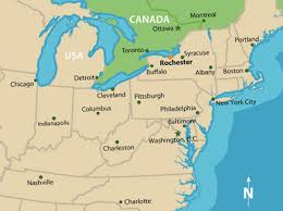 map of eastern usa and canada map of ne usa and canada major tourist attractions maps
