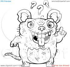 rat king coloring rat pages mole coloring pages ausmalbild der