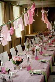 baby shower table settings appealing table setting for baby shower party photos best image