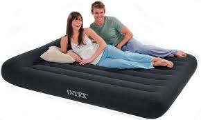 Intex Sofa Bed Intex Pillow Rest Queen Classic Air Mattress
