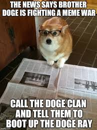 newspaper dog imgflip