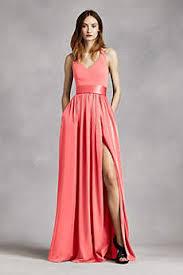 bridesmaid dresses coral coral bridesmaid dresses david s bridal