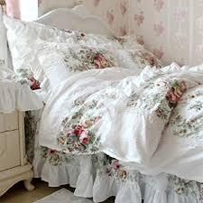 Ruffle Bedding Set Fadfay Home Textile New European Vintage Floral