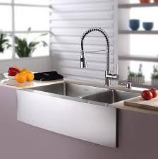 kitchen sink and faucet combo kraus kitchen combos 33 x 21 basin farmhouse apron