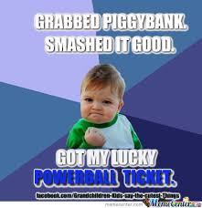 Winning Baby Meme - powerball winner yeah baby lol by jonikas meme center