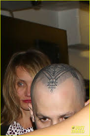 benji madden debuts elaborate new head tattoo photo 3477517