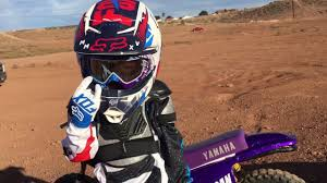old motocross helmets 3 year old dancing in new dirtbike gear youtube