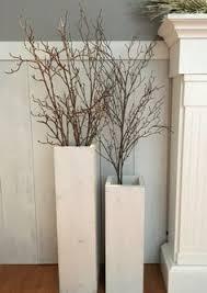floor vases home decor single rustic floor vase wooden vase home decor decorative vase