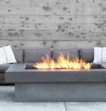 olson fire table concrete wave design concrete countertops